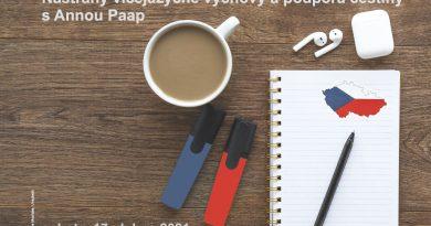 Nástrahy vícejazyčné výchovy a podpora češtiny s Annou Paap