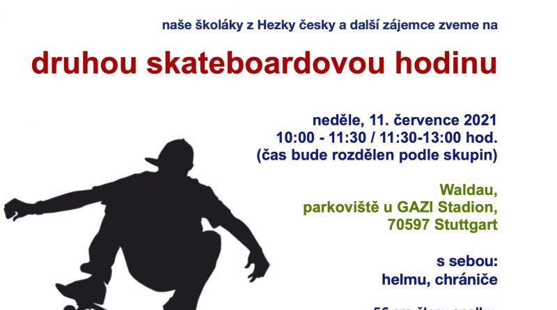 Druhá česká skateboardová výuka ve Stuttgartu je tady!