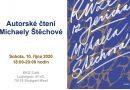 Autorské čtení Michaely Štěchové