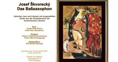 Josef Škvorecký – Das Baßsaxophon